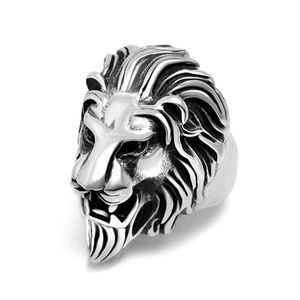 Jewelry - Silver Lion Head Ring B6